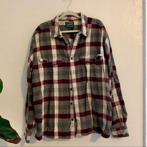 Woolrich Men's Over-shirt Checkered Flannel